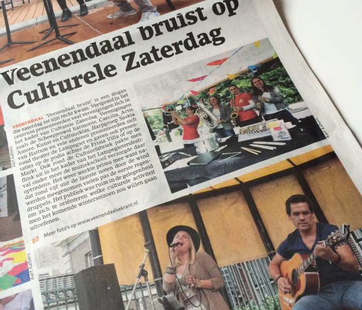 Stereo Heart in de krant